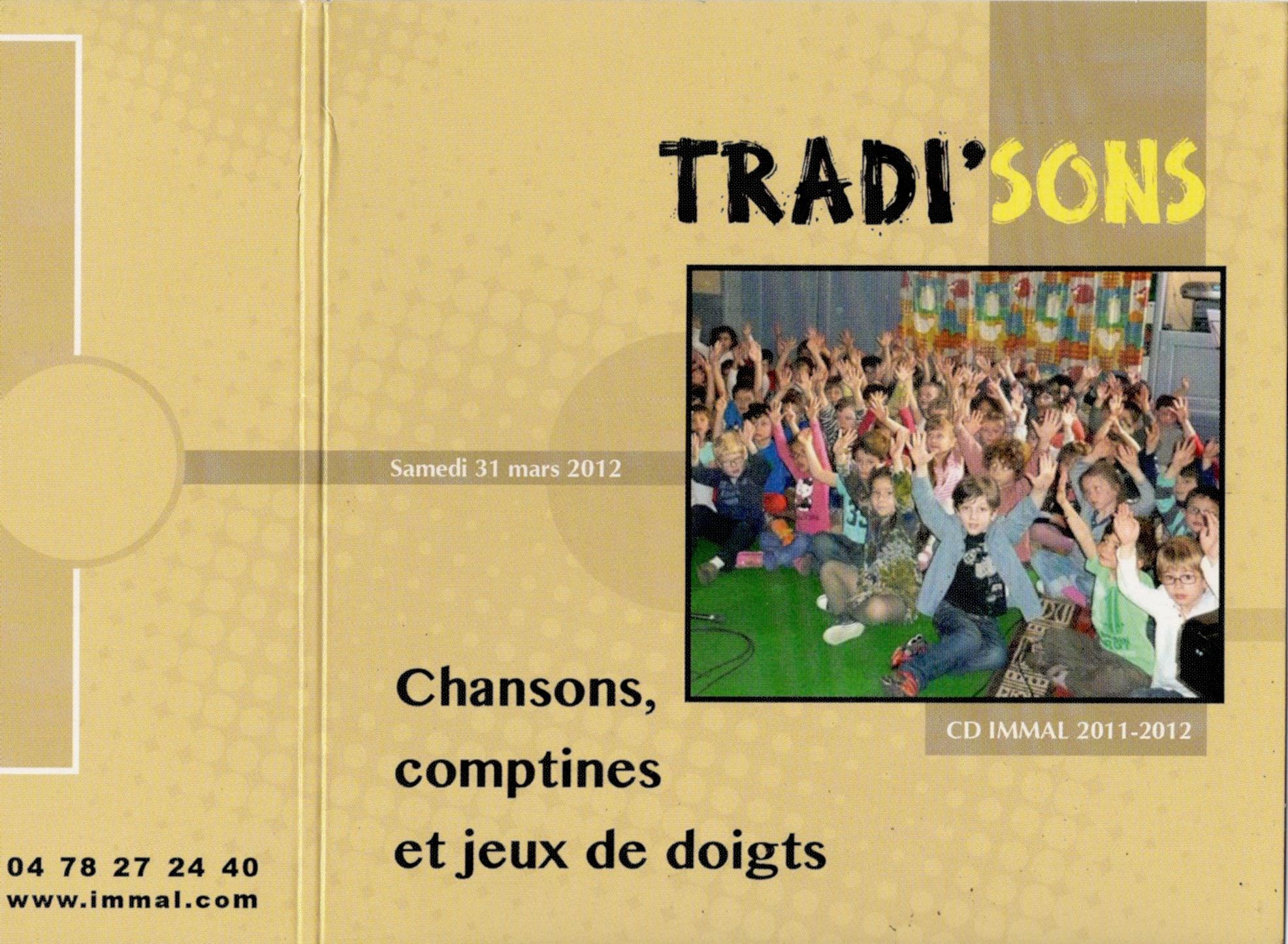 immal pochette cd souvenir 2012 - 2