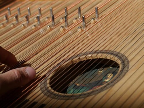 sampled zither